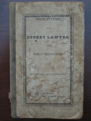 The Pocket Lawyer (1845)